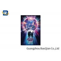 Cheap High Resolution Lenticular Greeting Cards Movie Star Photo Eco - Friendly Material wholesale