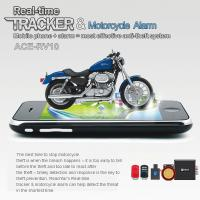 Cheap RFV10 Remote-Control Motorcycle Security AGPS LBS Tracker W/ web tracking & Alarm by SMS wholesale