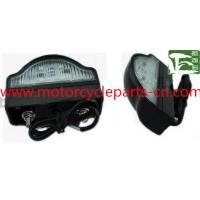 Cheap Waterproof LED License Plate Light E-Mark Approval Automobile Spare Parts Bus Tail Lamp wholesale