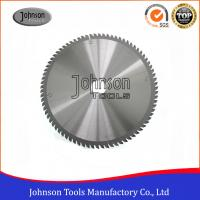 Cheap 250mm Aluminum Cutting TCT Saw Blade / Circular Saw Blade Clear Color wholesale