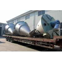 Cheap Vertical Type Conical Screw Blender , Mild Steel Double Screw Conical Mixer wholesale