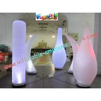 Cheap Inflatable Led Color Changing Lighting Decoration Pillar wholesale