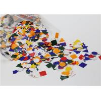 Cheap Assorted Gummed Paper Shapes Art Project For Greeting Card Decoration wholesale