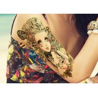 Cheap Water Transfer Temporary Body Tattoo Stickers , Temporary Tattoo Sheets wholesale
