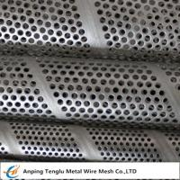 Cheap Spiral Perforated Tubes |Made by Stainless Steel/Mild Steel with 45°.60°.90° Hole Arrangements wholesale