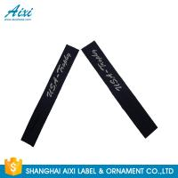 Buy cheap Garment Woven Clothing Label Tags Satin / Silk Printing Fast - Delivery from wholesalers
