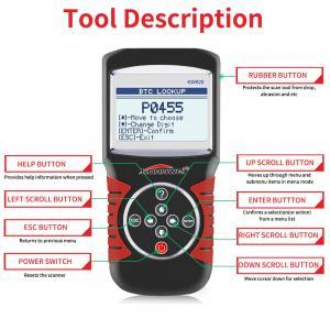 China Obd2 Obd Window Closer Live Data Scanner Diagnostic Tool KONNWEI KW820 Scaner on sale