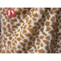 Cheap 100% polyester Giraffe Printed Polyester Plush Fabric , Polyester Plush Fabric Stuffed Animal Soft Toys wholesale