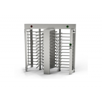 Cheap Indoor SS304 4 Sections 90 Degree Full Height Turnstile wholesale