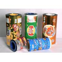 Cheap OEM  Food Grade Plastic  Sealing Packaging Stretch Roll Film 80-125 Micron  Aluminum Foil Laminated Roll Films wholesale