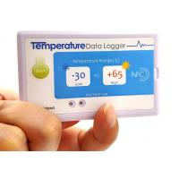 Cheap IP67 Electronic Tag OEM ODM , Single - Use NFC Temperature Logger wholesale