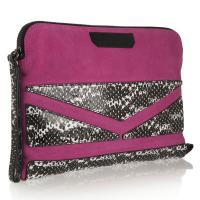 Cheap Party / Evening Bag , Suede Leather Wristlet Bag OEM Private Label wholesale