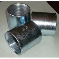 Cheap Thread sockets Seamless and seam black steel pipe sockets,couplings wholesale