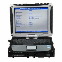 Cheap Panasonic CF19 Second Hand I5 4GB Laptop for Porsche Piwis Tester II (No HDD included) wholesale