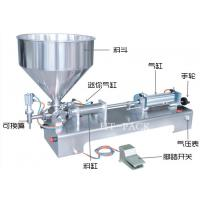 Cheap Easy Control Stainless Paste Liquid Filler Equipment Manual Filling Machine wholesale