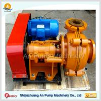 Cheap Gold mining centrifugal low abrasive rubber slurry pump wholesale