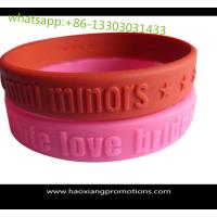 Cheap 2016 new products arts and crafts rubber gift silicone bracelet for promotional gift wholesale