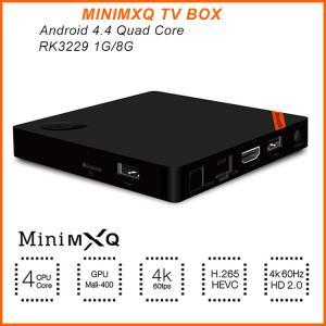 2016 Latest Mini MXQ TV Box RK3229 Quad Core 1GB/8GB 4K Android 4.4 Tv Box Better Than MXQ