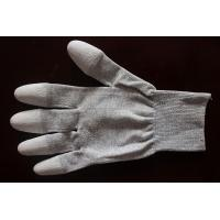 Cheap Copper Top/Palm PU Coated Conductive Gloves wholesale