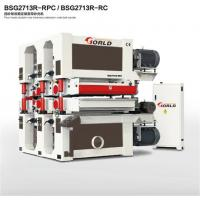 China 4-head double-side calibrating wide belt sander, BSG2713R-RPC/ BSG2713R-RC on sale