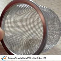 Cheap Stainless Steel Rimmed Bowl/Dome Shape Filter|Made by Aluminum and Stainless Steel wholesale