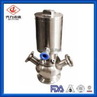 Cheap Pneumatic Hygienic Sample Valve Thread Hose Connection For CIP Sterilization wholesale