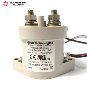 Cheap B240700000326 High Voltage DC Contactor , EV200AAANA 24V DC Contactor wholesale
