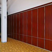 Cheap Polyester Construction Material Hanging System Sound Proof Curtain Partition Walls For Hotel wholesale