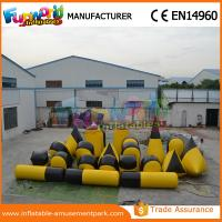 Cheap Customized PVC Inflatable Paintball Bunkers / Battle Bunker Sport Games Equipment wholesale