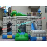 Cheap Custom Inflatable Bouncer Slide Commercial Grade With PVC Tarpaulin wholesale