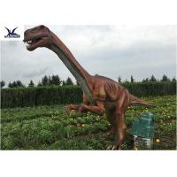 Cheap Outside Zoo Park Decorative Realistic Dinosaur Statues Water And Smoke Spraying wholesale
