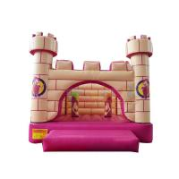 Cheap Witch Palace Inflatable Air Bounce House Pvc Moon Jumper Castle  Quadruple Stitching wholesale