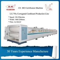Cheap High Speed Corrugated Cardboard Making Machine Computer Controlled wholesale