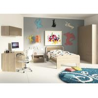 Teenage Bedroom Furniture With Desks, Simple Youth Bedroom SetsWith Hanging Cabinet