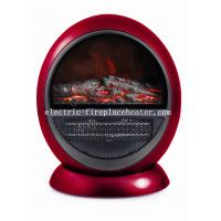Cheap Stylish Indoor Log Flame Effect Portable Electric Fireplace PTC Heater For Living Room wholesale