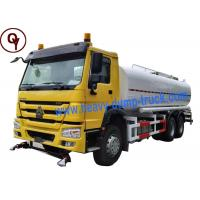 Cheap China Heavy Duty Sprayer Water Truck 6x4 Drive Type with 20000 Liter Water Tank wholesale