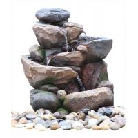 Buy cheap Professional 3 Tier Outside Rock Water Fountains For Garden Ornaments from wholesalers