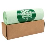Cheap OEM Biodegradable Compost Bags On Roll Supermarket Food Waste Caddy Liner wholesale