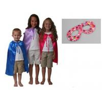 Cheap Children's superhero cape with eye mask wholesale