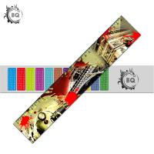 Cheap PET PVC 3D Lenticular Ruler Flip EEffects With 0.9mm PET Non Toxic wholesale