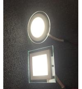 Cheap New design glass rim LED panel light wholesale