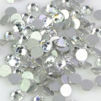 Cheap 12 - 14 Facets Low Lead Rhinestones Extremely Shiny Environmentally Friendly wholesale