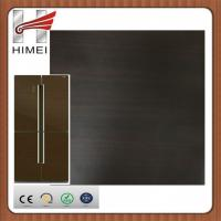 China Top quality wood grain laminated steel coil caoted steel sheet for refrigerator panels on sale