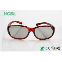 Cheap Clip on Virtual reality Readl 3d glasses Linear polarization 3d Glasses for cinema use wholesale