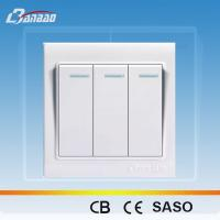 Cheap LK4005 white color rocker PC wall switch wholesale