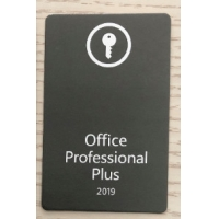 Cheap pc key card 2019 Pro Plus Microsoft Office Key Card 100% Online Activation For PC product key card office wholesale