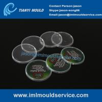 Cheap 500g thin wall container cover mould with in mold label, thin wall plastic injection mould wholesale