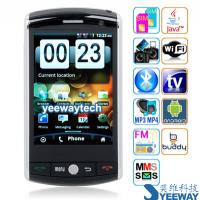 Buy cheap F602 Quad Band Dual Cards Dual Standby Dual Cameras Analog TV WIFI A-GPS from wholesalers