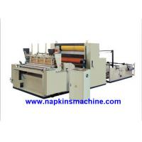 Cheap Full Automatic Toilet Paper Making Machine , Jumbo Roll Toilet Tissue Machine wholesale
