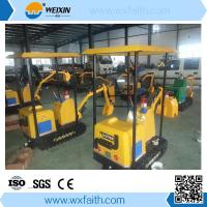 Cheap 220v 50Hz Children excavator in amusement park wholesale